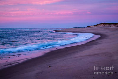Photograph - Magenta Rising - Coast Guard Beach by Susan Cole Kelly