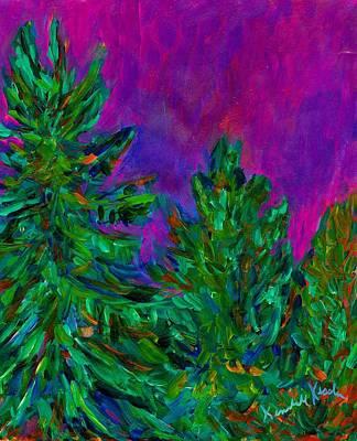 Painting - Magenta Sky by Kendall Kessler