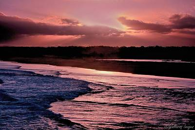 Photograph - Magenta Twilight by Wallaroo Images