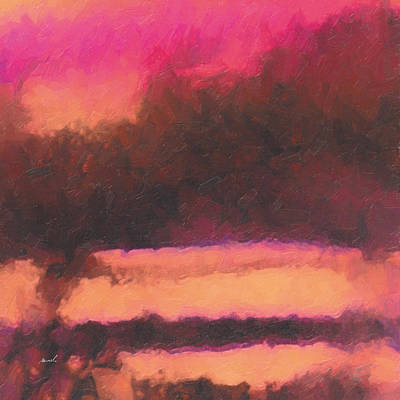Painting - Magenta Winds by The Art of Marsha Charlebois