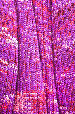 Royalty-Free and Rights-Managed Images - Magenta wool by Tom Gowanlock