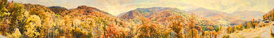 Photograph - Maggie Valley Smoky Mountain Panorama by Gregory Scott