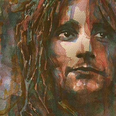 Stewart Painting - Maggie May  by Paul Lovering