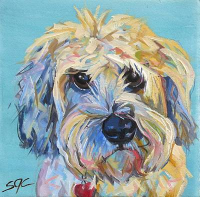 Painting - Maggie by Sarah Gayle Carter