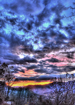Photograph - Maggie Valley Sunrise by Craig T Burgwardt