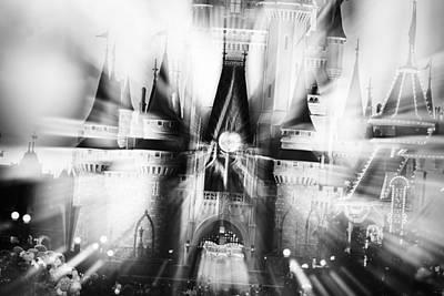 Photograph - Magic - Bw by Nicholas Evans