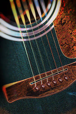 Photograph - Magic Acoustic Guitar 1 by Dave Garner