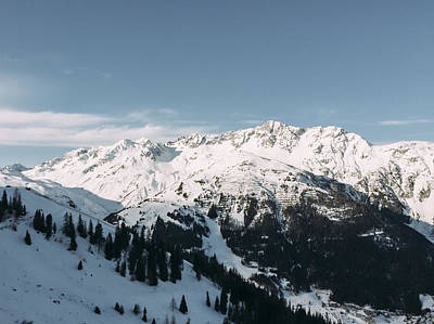 Photograph - Magic Arlberg by Soren Egeberg