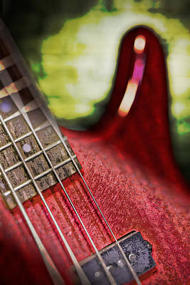 Photograph - Magic Bass Guitar 1 by Dave Garner