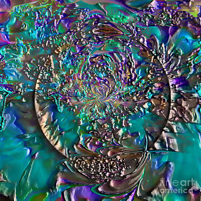 Digital Art - Magic Circle by Ursula Freer