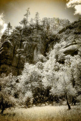 Art Print featuring the photograph Magic Cliffs Outside Sedona by Dave Garner