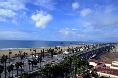 Photograph - Magic Clouds At Huntington Beach by Clayton Bruster