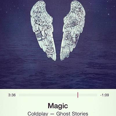 Band Wall Art - Photograph - #magic #coldplay #music by Brett Connors