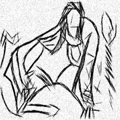 Magic Demon Mistress Art Print
