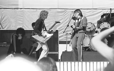 Photograph - Day On The Green 6-6-76 #7 by Ben Upham