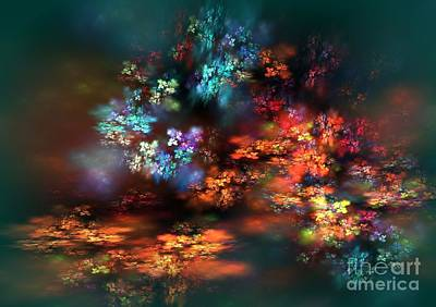 Digital Art - Magic Garden by Greg Moores