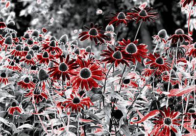 Digital Art - Magic Garden by Leo Symon