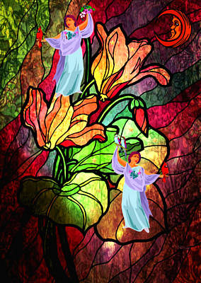 Digital Art - Magic Garden by Mary Anne Ritchie