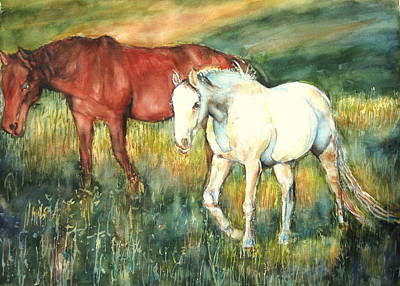 Painting - Magic Horse by June Conte  Pryor