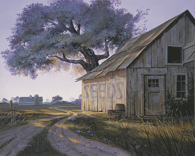 Weathered Painting - Magic Hour by Michael Humphries
