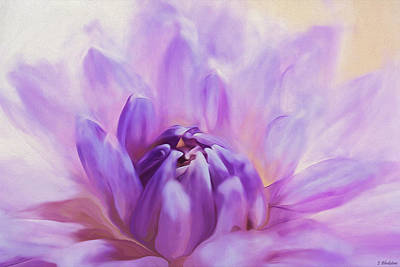 Painting - Magic Is Believing In Yourself - Flower Art by Jordan Blackstone