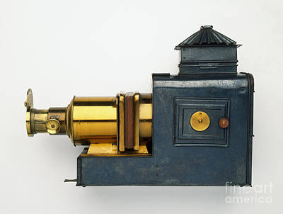 Magic Lantern Photograph - Magic Lantern, 1895 by Dave King / Dorling Kindersley / Science Museum, London