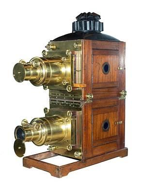 Magic Lantern Photograph - Magic Lantern Projector by David Parker