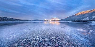 Mcdonalds Photograph - Magic Light // Lake Mcdonald, Glacier National Park by Nicholas Parker