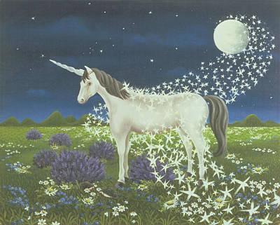 Unicorn Photograph - Magic by Magdolna Ban