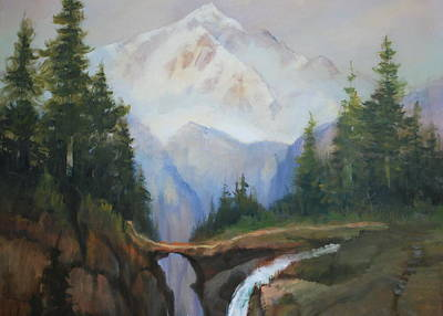 Magic Mountain Art Print