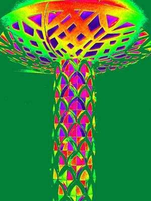 Mushroom Digital Art - Magic Mushroom One by Randall Weidner