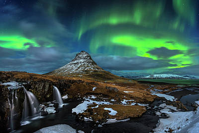 Tourist Attraction Photograph - Magic Night by Dr. Nicholas Roemmelt