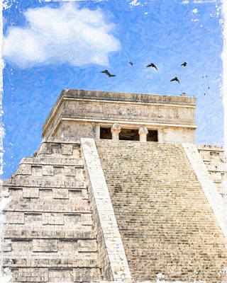 Photograph - Magic Of Chichen Itza by Mark Tisdale