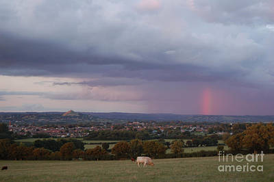 Photograph - Magic Of Glastonbury Tor by Linda Prewer