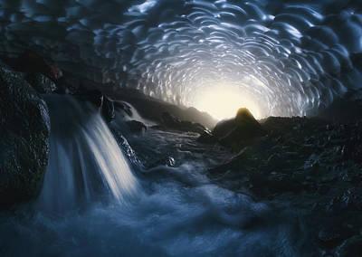 Cave Wall Art - Photograph - Magic Of Kamchatka by Rostovskiy Anton