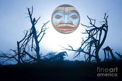 Indian Tribal Art Photograph - Magic Of The Pacific Northwest 1      by Bob Christopher