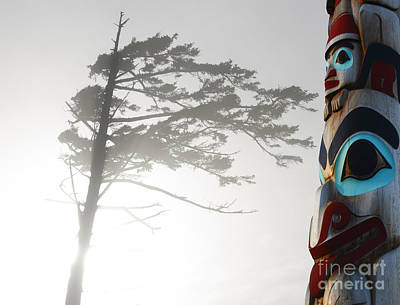 Indian Tribal Art Photograph - Magic Of The Pacific Northwest 2 by Bob Christopher