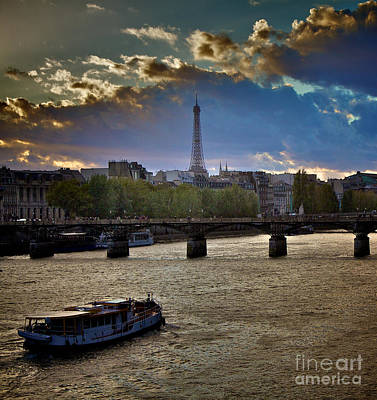 Magic Paris Art Print