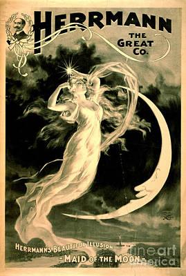 Magic Show Playbill 1898 Art Print
