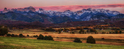 Fantasy Royalty-Free and Rights-Managed Images - Magic Sunset over Dallas Divide by David Soldano