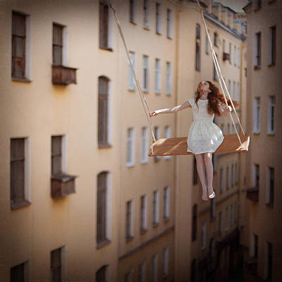 Surrealism Wall Art - Photograph - Magic Swings by Anka Zhuravleva