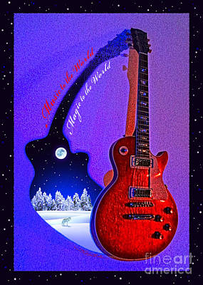 Magic To The World... Music To The World .2 Art Print by Gem S Visionary