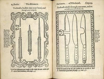 Magic Tricks, 16th Century Art Print