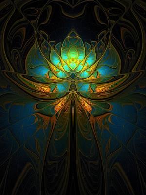 Framed Art Digital Art - Magical by Amanda Moore