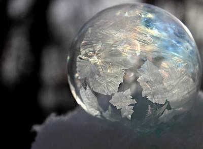 Magical Bubble Art Print