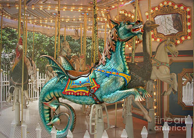 Photograph - Magical Carousel by Sabrina L Ryan
