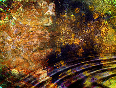 Mixed Media - Magical Cavern by Dorothy Berry-Lound