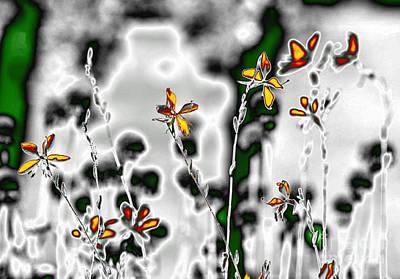 Digital Art - Magical Garden 7 by Leo Symon