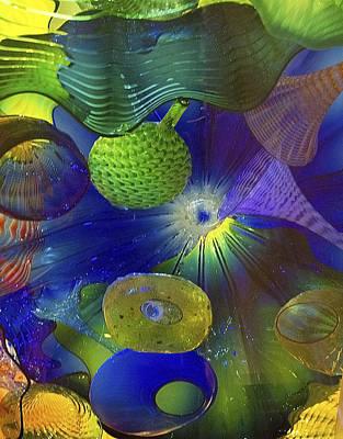 Magical Glass 2 Art Print by Elvira Butler