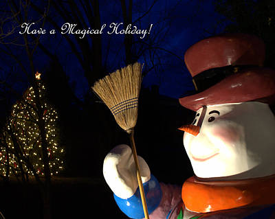 Photograph - Magical Holidays by Cathy Shiflett